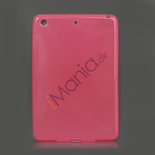 Glossy TPU Gel Case Cover til iPad Mini - Pink