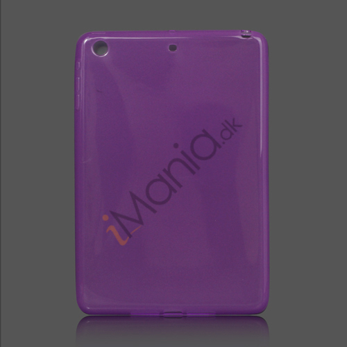Glossy TPU Gel Case Cover til iPad Mini - Lilla