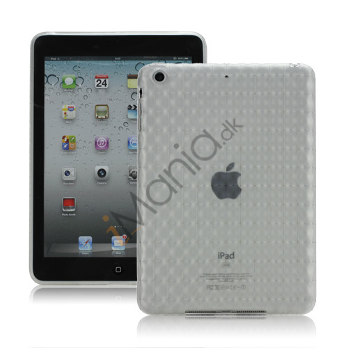 Image of   Anti-slip Water Cube Wave TPU Gel Case Cover til iPad Mini - Gennemsigtig