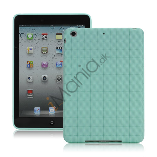 Image of   Anti-slip Water Cube Wave TPU Gel Case Cover til iPad Mini - Grøn