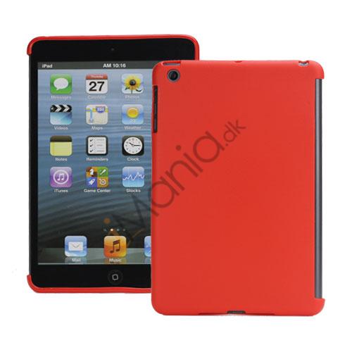 iPad Mini Smart Cover Companion TPU Gel Beskyttende Case - Rød