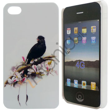 Image of   iPhone 4 cover Krage på gren