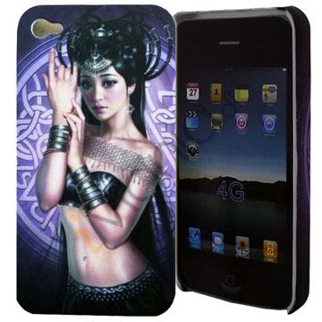 Image of   iPhone 4 cover med eksotisk danser