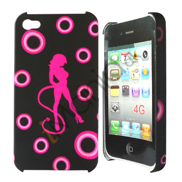 Image of   iPhone 4 / 4S cover Pink danser