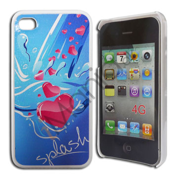 Image of   iPhone 4 / 4S cover Hjerter i vandet