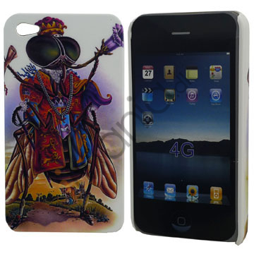 Image of   iPhone 4 cover Royal flue