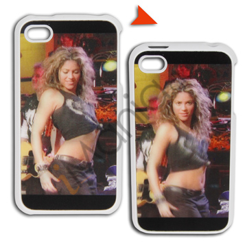 Image of   iPhone 4 3D cover med bikerchick
