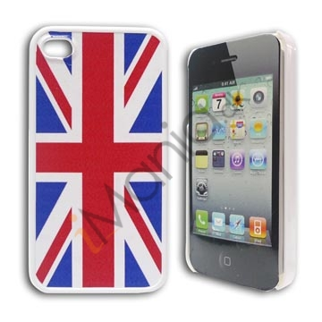 iPhone 4 / 4S cover med Storbritanniens flag, Union Jack
