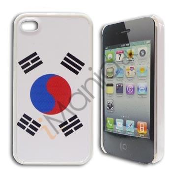 Billede af iPhone 4 / 4S cover med koreansk flag