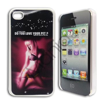"Image of   iPhone 4 / 4S Sexy ""Do you love your pet?"""
