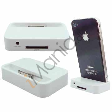 iPhone 4 dock iPhone 4 bordlader hvid