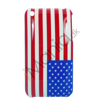 iPhone 3G cover / 3GS cover med USA's flag