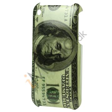 iPhone 3G cover med dollar mønster