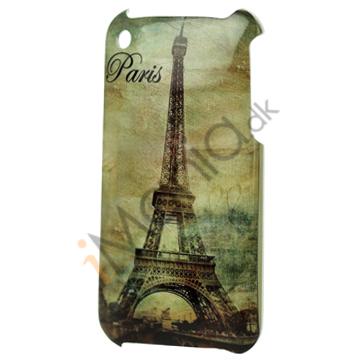 iPhone 3G cover med Eiffeltårnet