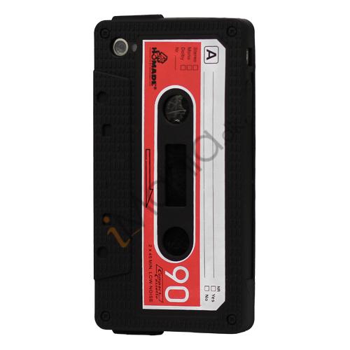 Billede af iPhone 4 kassettebånd silikone cover