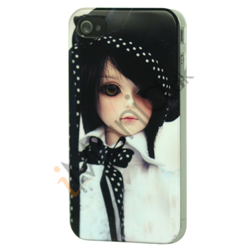 Image of   iPhone 4 cover Dukkeansigt 1