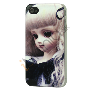 Image of   iPhone 4 cover Blond dukke