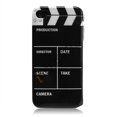 "Image of   iPhone 4 cover Hollywood ""clapper"""
