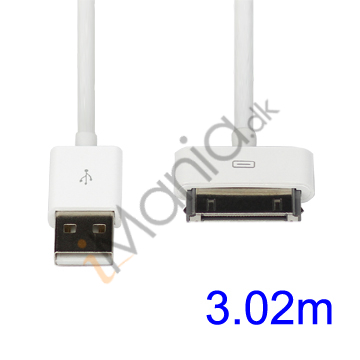 iPhone USB kabel - 3 meter