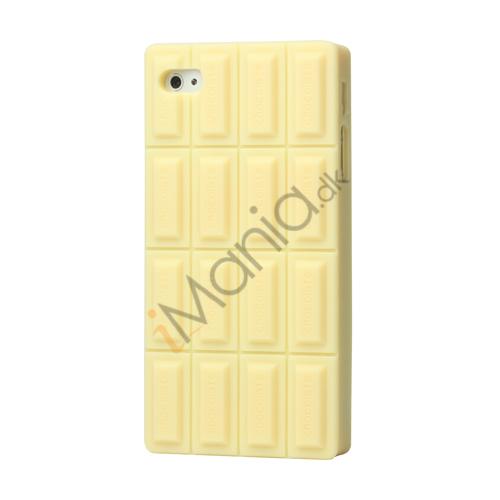 Image of   iPhone 4 / 4S cover - Hvid chokolade