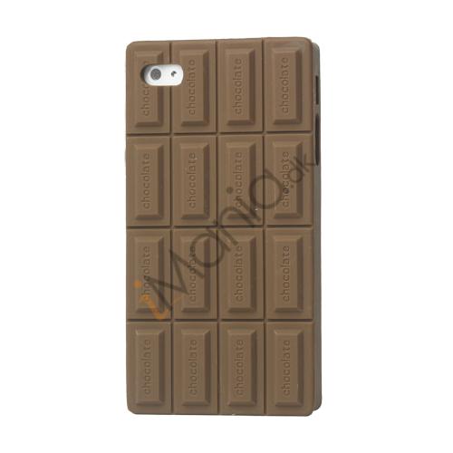 Image of   iPhone 4 / 4S cover - Chokolade plade