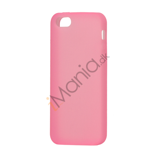 Image of   Blødt Silikone Case Cover til iPhone 5 - Pink