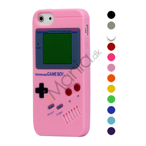 Image of   Nintendo Game Boy Silikone Cover Case til iPhone 5