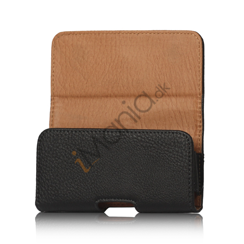 Image of   PU Læder Belt Clip Holster Pouch Case til iPhone 5