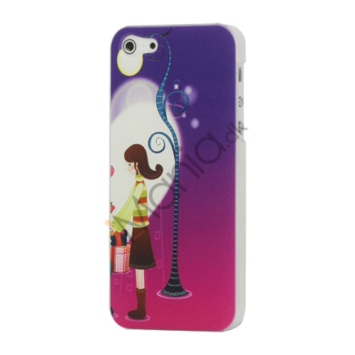 Image of   Good Looking Girl Hard Plastic iPhone 5 cover