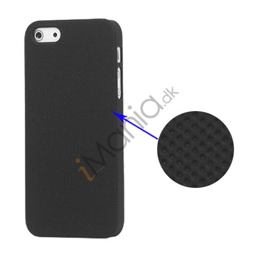 Image of   Drømme Mesh hård plast Case iPhone 5 cover - Sort