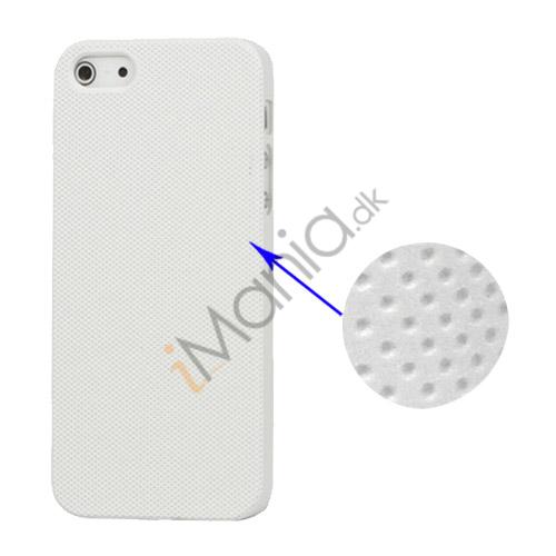 Image of   Drømme Mesh hård plast Case iPhone 5 cover - Hvid
