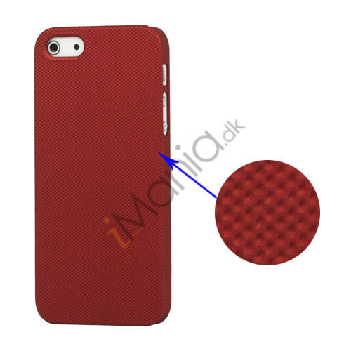 Billede af Drømme Mesh hård plast Case iPhone 5 cover - Rød