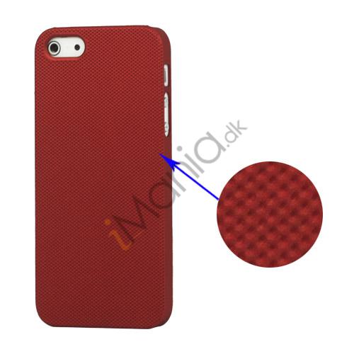 Image of   Drømme Mesh hård plast Case iPhone 5 cover - Rød