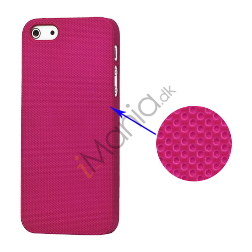 Drømme Mesh hård plast Case iPhone 5 cover - Rose
