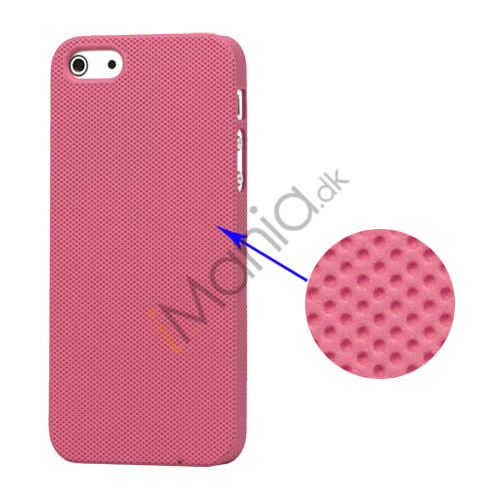 Image of   Drømme Mesh hård plast Case iPhone 5 cover - Pink