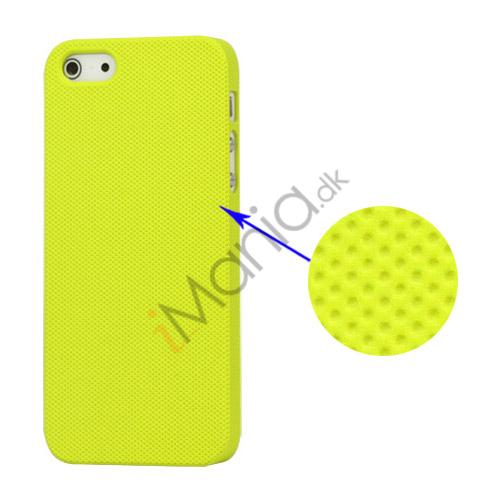 Image of   Drømme Mesh hård plast Case iPhone 5 cover - Gul Grøn