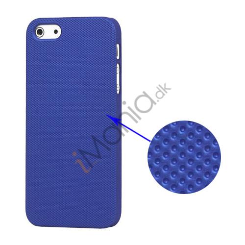 Image of   Drømme Mesh hård plast Case iPhone 5 cover - Mørkeblå