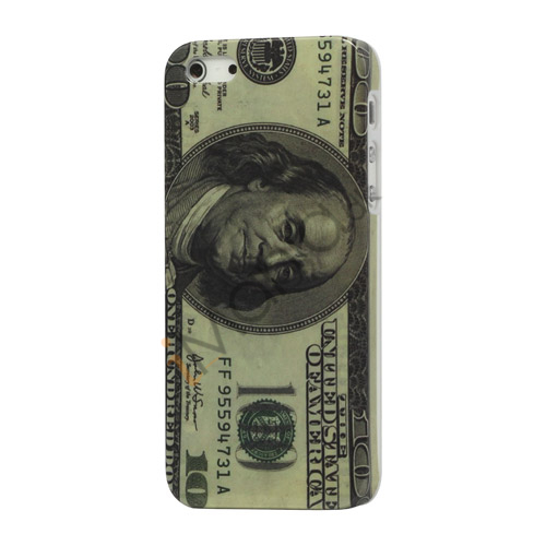 US Dollar Hard Back Cover Case til iPhone 5