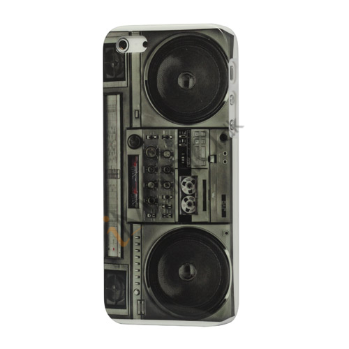 Vintage Radio kassettebåndoptager Player Hard Case iPhone 5 cover