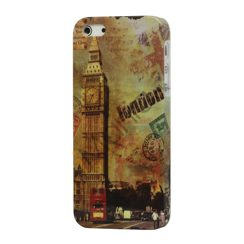 London Big Ben Hard Cover Case til iPhone 5