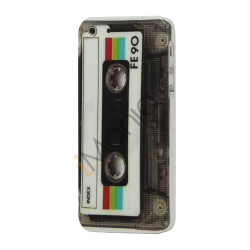 Retro Kassette Tape Blankt Hard Case iPhone 5 cover