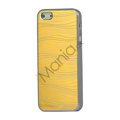 Image of   Bright Water Wave Hard Case Shell til iPhone 5 - Gold
