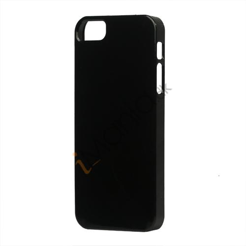 Image of   Glimmer Slim Hard Plastic Case til iPhone 5 - Sort