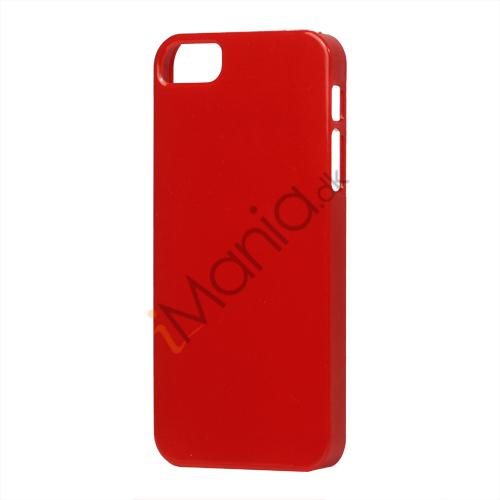 Image of   Glimmer Slim Hard Plastic Case til iPhone 5 - Rød