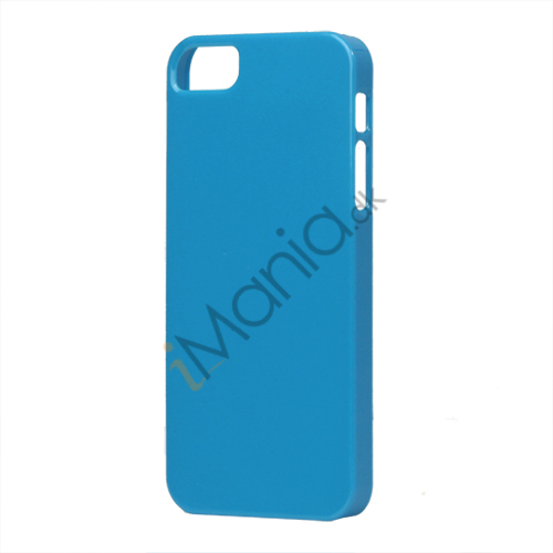 Image of   Glimmer Slim Hard Plastic Case til iPhone 5 - Blå