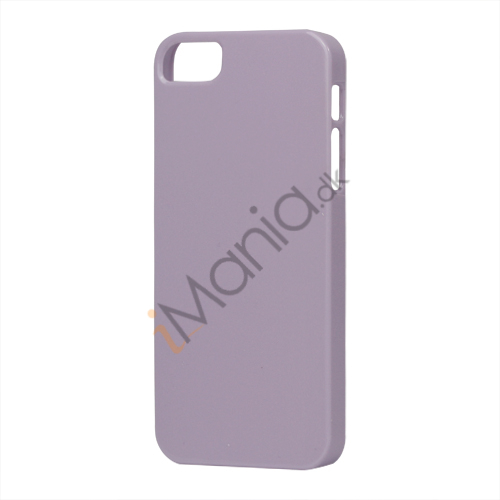 Glimmer Slim Hard Plastic Case til iPhone 5 - Lilla