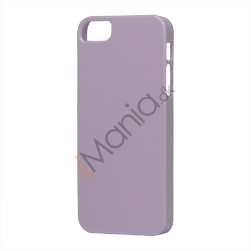 Image of   Glimmer Slim Hard Plastic Case til iPhone 5 - Lilla