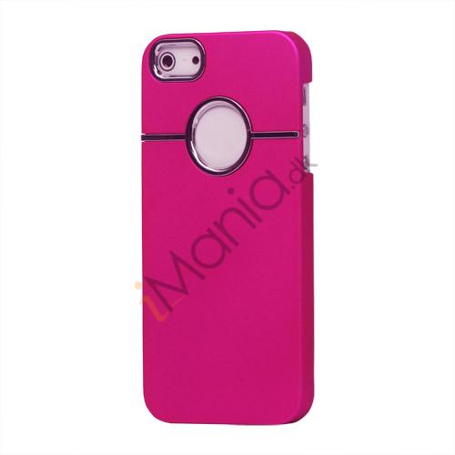 Billede af Gummibelagt hård plast Case iPhone 5 cover - Rose