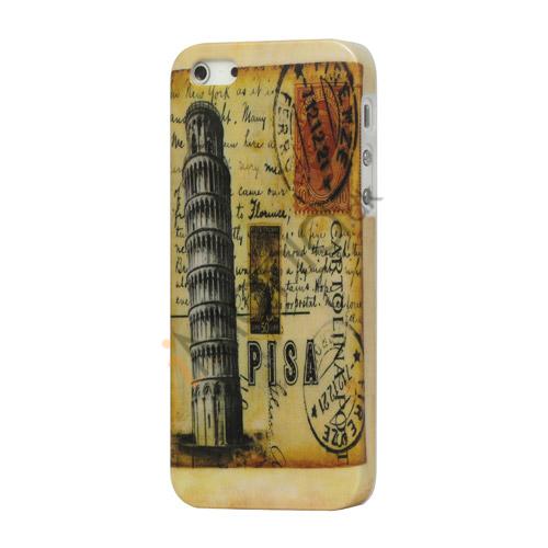 Billede af Berømte Skæve Tårn i Pisa hård plast tilfældet til iPhone 5