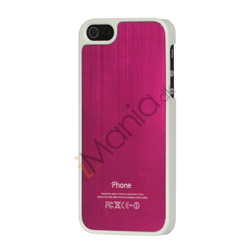 Luksus børstet aluminium Case Cover til iPhone 5 - Rose